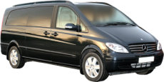 Tours of Maidstone and the UK. Chauffeur driven, top of the Range Mercedes Viano people carrier (MPV)