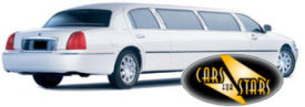 Limo Hire Baxley - Cars for Stars (Maidstone) offering white, silver, black and vanilla white limos for hire