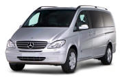 Chauffeur driven Mercedes Viano people carrier - Up to 7 passengers in comfort, from Cars for Stars (Maidstone) - Airport Transfer Services